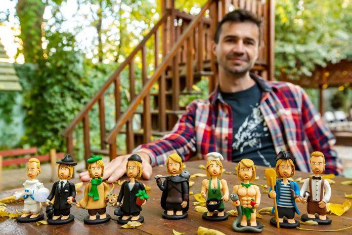 Франківець робить унікальні «теплі іграшки» і знімає з ними мультфільми -  Sotka.Life