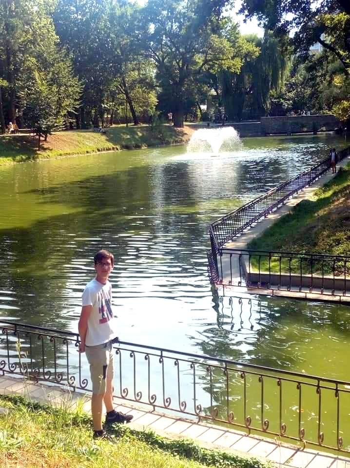 міське озеро Івано-Франківськ