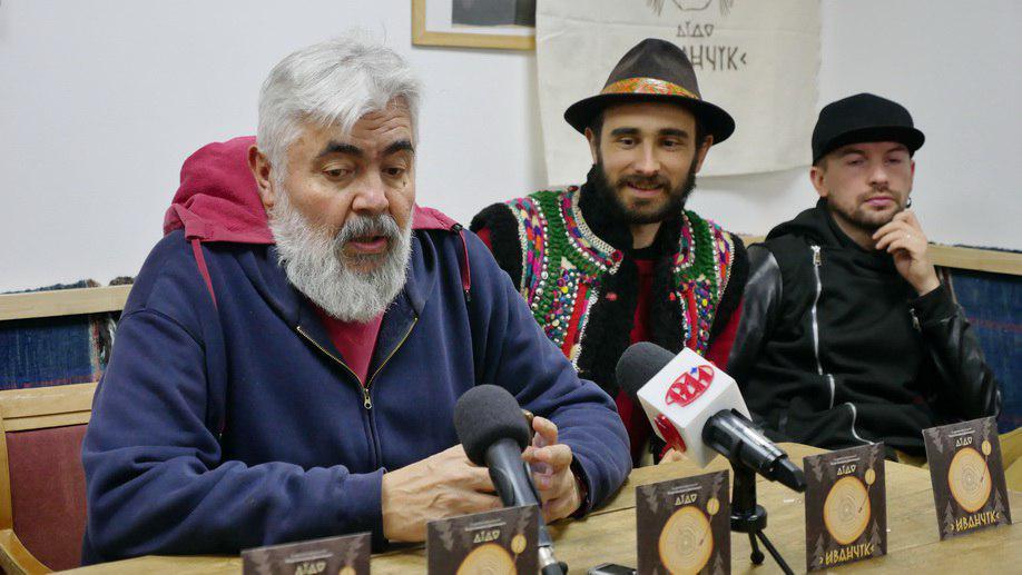 Олег Гнатів презентує книгу Дідо Иванчік