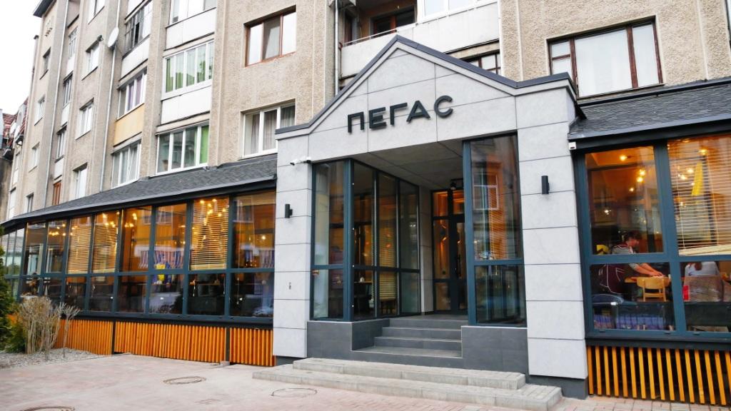 """Колишній популярний ресторан, а тепер їдальня """"Пегас"""" в Івано-Франківську"""