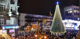 Головна новорічна ялинка в Івано-Франківську